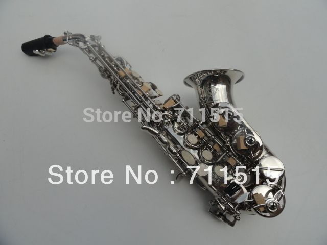 Brand Selmer Saxophone B Soprano Saxofone Saxophone and Mouthpiece Henry Reference 54 Sax Nickel Plated instrumentos musicales