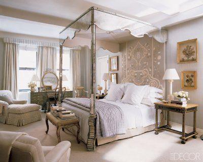 Dream bedroom: Elle Decor, Dreams, Bedrooms Design, Canopy Beds, Interiors Design, Bunnies Williams, Master Bedrooms, Canopies Beds, Bedrooms Decor Ideas