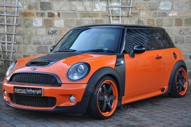 mini cooper mini jcworks pinterest mini coopers minis and orange. Black Bedroom Furniture Sets. Home Design Ideas