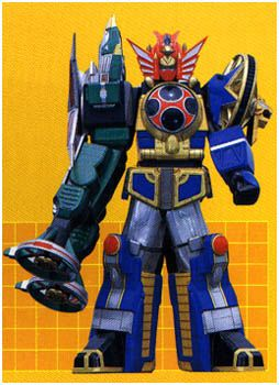 The Samurai Star Chopper is the Zord of the Green Samurai Ranger in Power Rangers Ninja Storm. It is a swallow-like helicopter armed with laser cannons. This was the only personal Zord of a Ninja Storm Ranger to survive the last battle. Lothor had damaged the system that opened the Samurai Star's portal. It currently lies dormant in its hiding place since the loss of the Green Samurai Powers.
