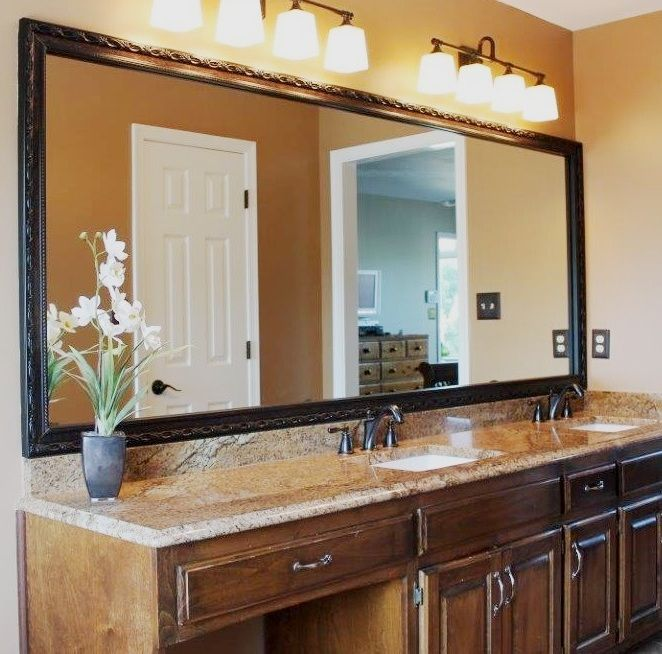 Bathroom Mirror Makeover 73 best mirrormate diy mirror makeoverscustomers images on