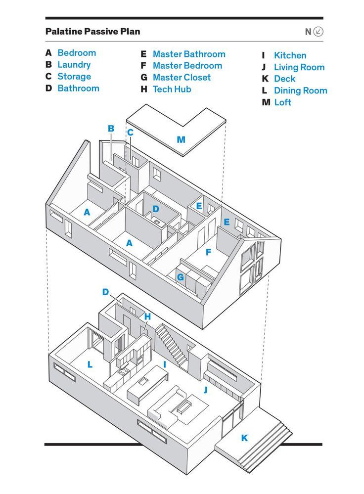 7 best the minimalist house - floor plans images on pinterest