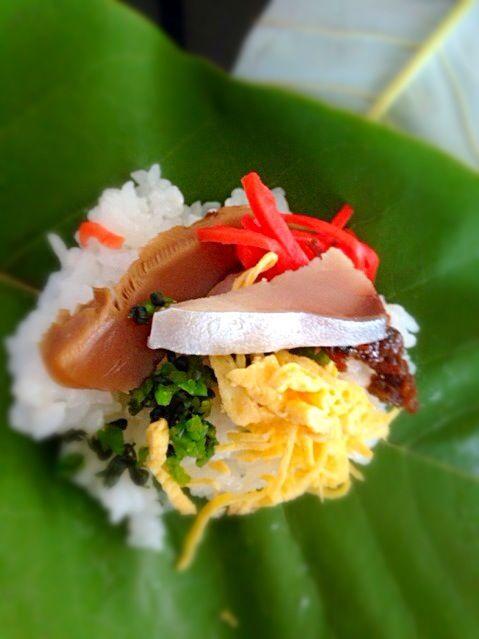 お米一升分作りましたζ*'ヮ')ζ - 36件のもぐもぐ - 岐阜県の郷土料理 朴葉寿司 by えーちゃん