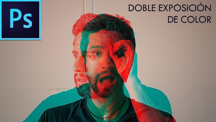 DOBLE EXPOSICIÓN DE COLOR | Photoshop CC | Tutorial #26 | Español