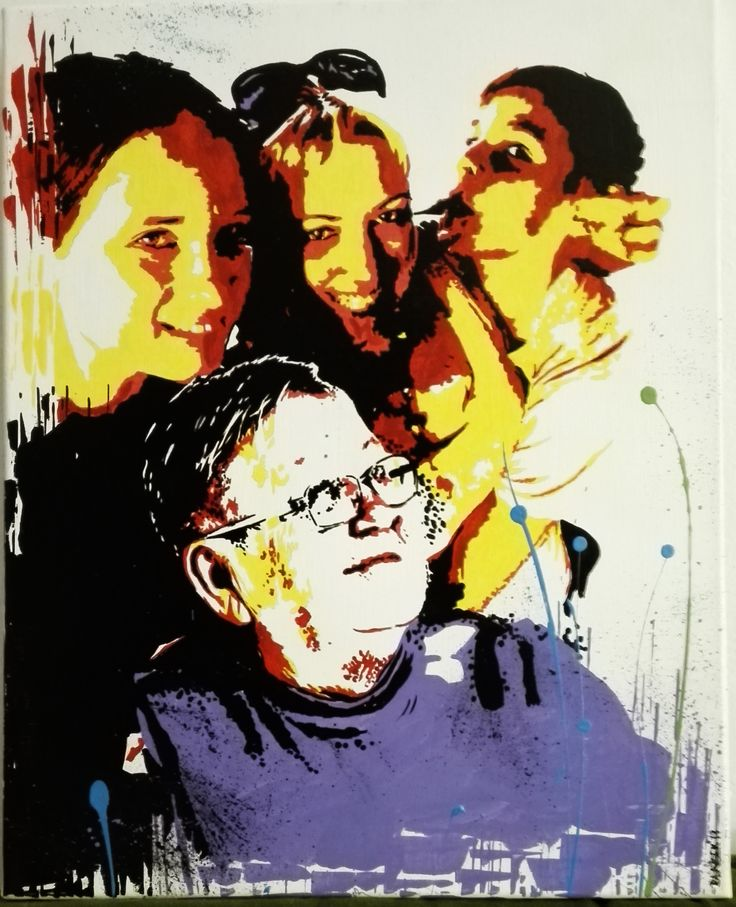 40x50 cm acrylic, canvas