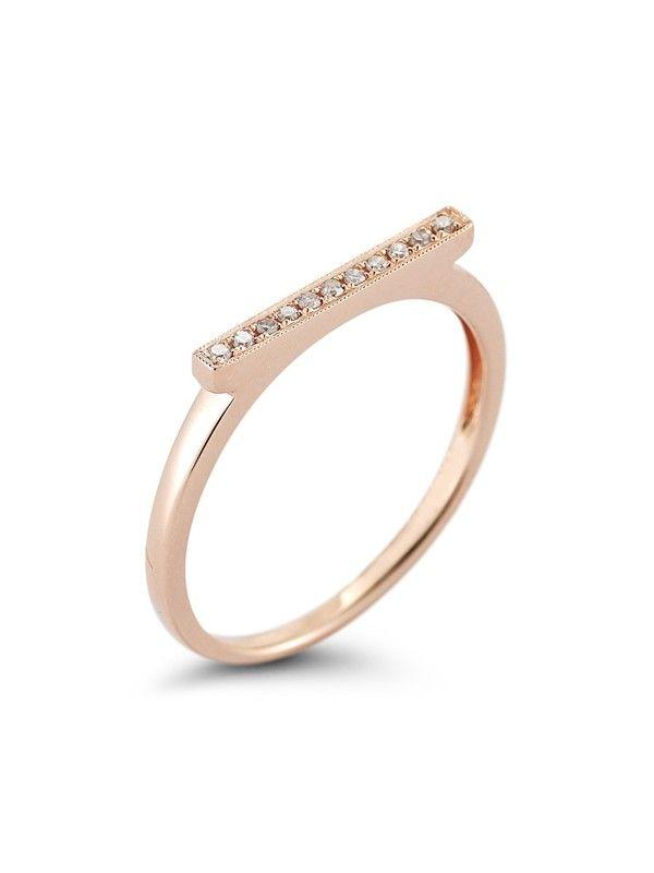 Dana Rebecca Sylvie Rose Bar Ring