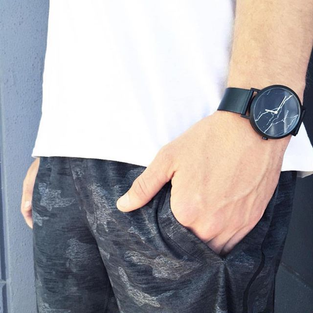 Love this shot of the Black Marble by @perthstylesource  #menwithstyle #mensstyle