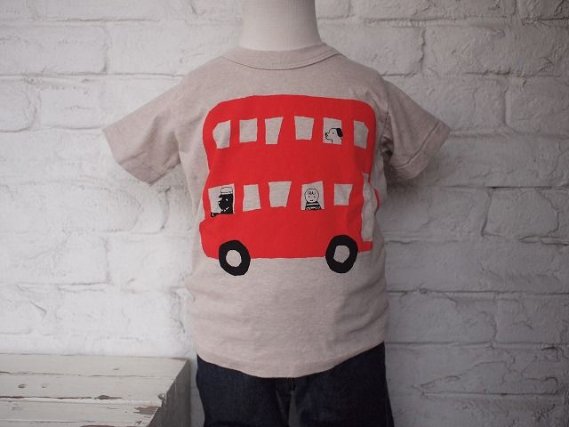 nini 【ニニ】  ロンドンバスTシャツ 商品詳細 FITH GOTOHOLLYWOOD BLEU H toiotitoi 子供服 FLAVOR