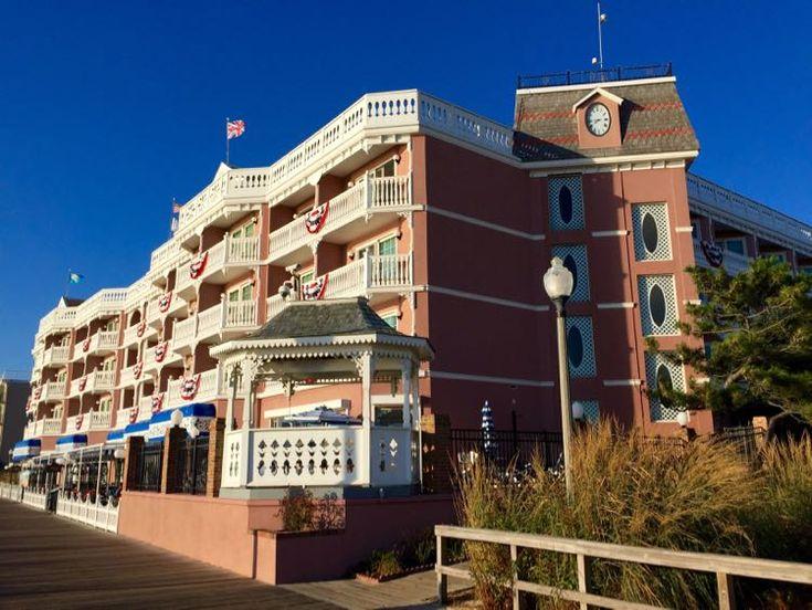 Boardwalk Plaza Hotel Rehoboth Beach Delaware Pinterest And