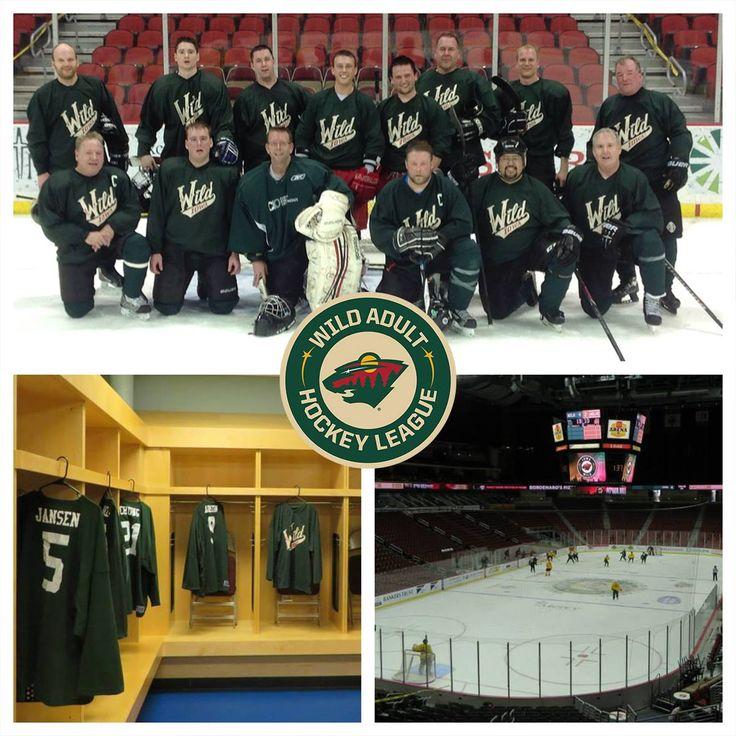 Minnesota Wild Adult Hockey League 38