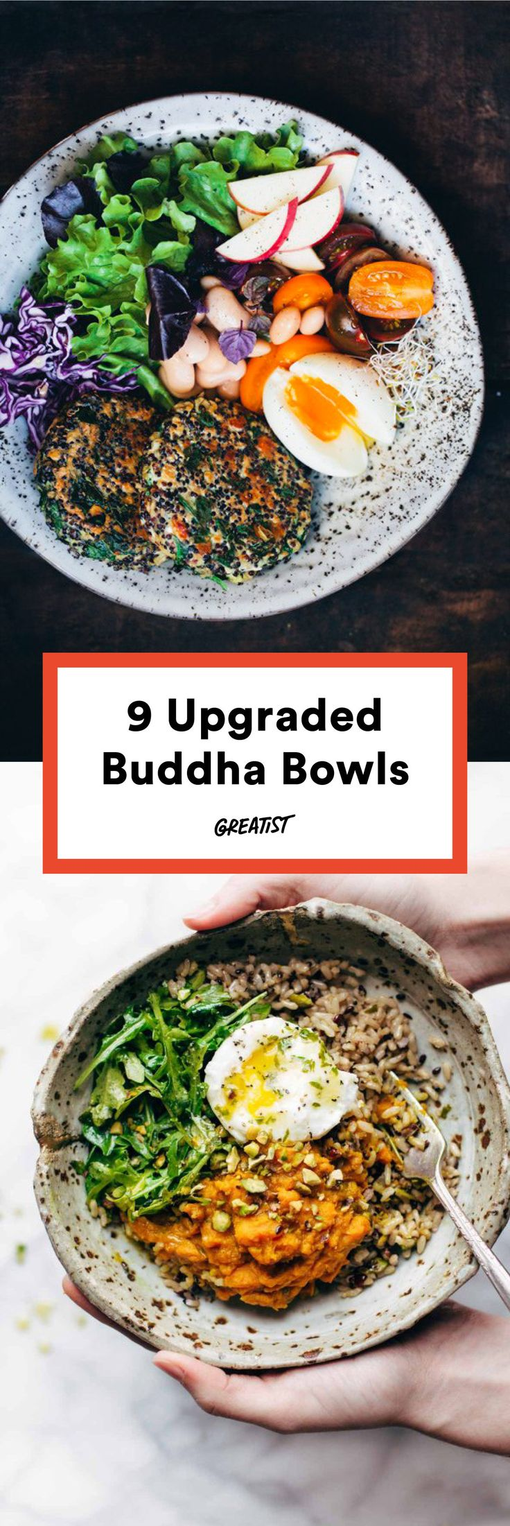 Buddha, Buddha, Buddha, Buddha, rockin' everywhere. #greatist http://greatist.com/eat/buddha-bowl-recipes