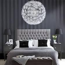 Znalezione obrazy dla zapytania sypialnia glamour szara