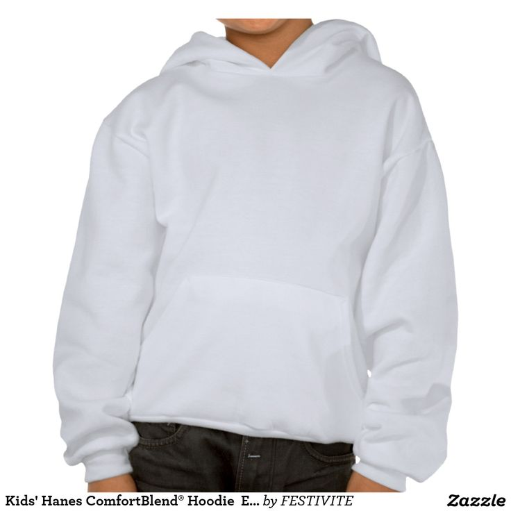 Kids' Hanes ComfortBlend® Hoodie  Enjoy winter