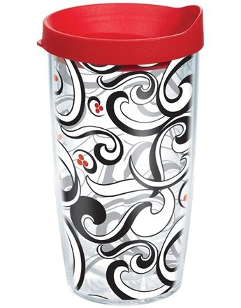 Love The Tervis Tumblers Berry Swirl With Red Lid Is My Favorite