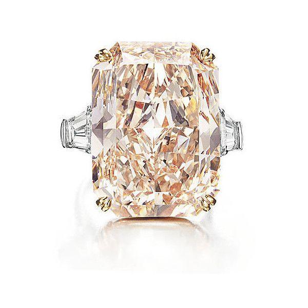 Pink Champagne Diamond Ring