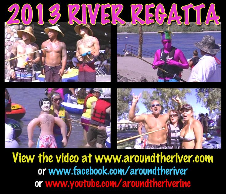 2013 River Regatta participants! (Screenshots from the video)