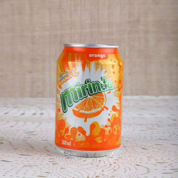 Beverages - Aerated Drinks - Mirinda Can Imported 300 ml