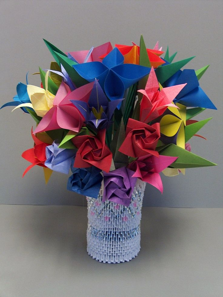 26 Best Triangle Origami Images On Pinterest Modular Origami Craft And Origami Paper