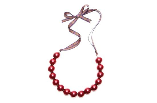 Coco necklace - Claret