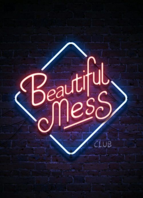 Forget about 'beautiful', I'm a hot mess
