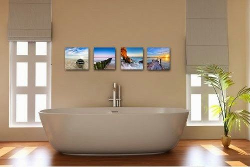 Canvas Print, Stretched and Framed, 4 Panels Canvas Art The Extensive Modern Canvas Wall Art for Home Decoration, 12x12inchx4pcs, P4R1x1-6 - Store Online for Your Live and Style