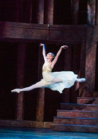 Sarah Lamb as Juliet in Romeo and Juliet