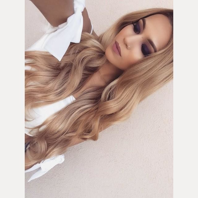 """Piccolina 120g 18"""" Dirty Blonde (18) by Clip-In Hair Extensions    ja_amoree"""
