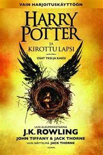 Kahdeksas tarina. Yhdeksäntoista vuotta myöhemmin.Harry Potter ja kirottu lapsi on J.K. Rowlingin, John Tiffanyn ja Jack Thornen luoma uusi tarina, jonka on näytelmäksi kirjoittanut Jack Thorne. Se on kahdeksas Harry Potter -tarina ja virallisesti ensimmäinen, josta on tehty näytelmäversio. Näytelmän ensi-ilta on Lontoon West Endissä 30.7.2016.Harry Potterilla ei ole koskaan ollut helppoa, ja vaikeuksia riittää nytkin kun hän on taikaministeriön ylityöllistetty virkamies, aviomies ja kolmen…