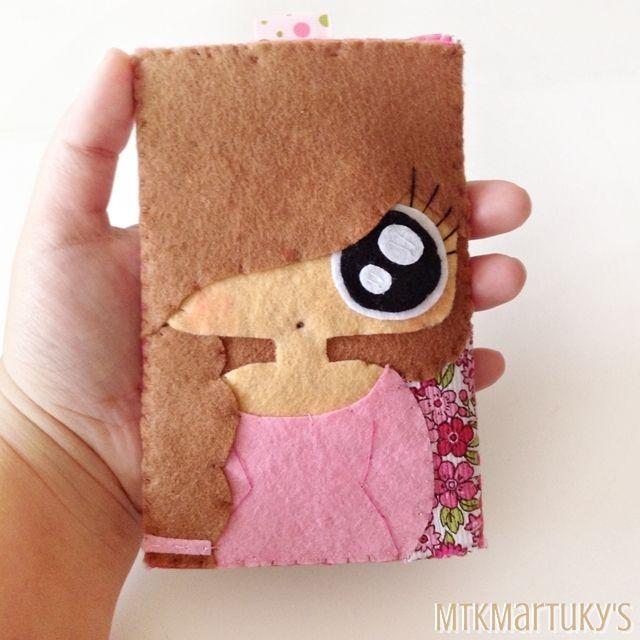 Funda de móvil MTK Tresse #felt #fieltro #mobile case #doll