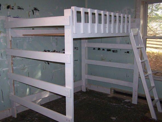 heavy duty twin size loft bed - Hausgemachte Etagenbetten Fr Mdchen