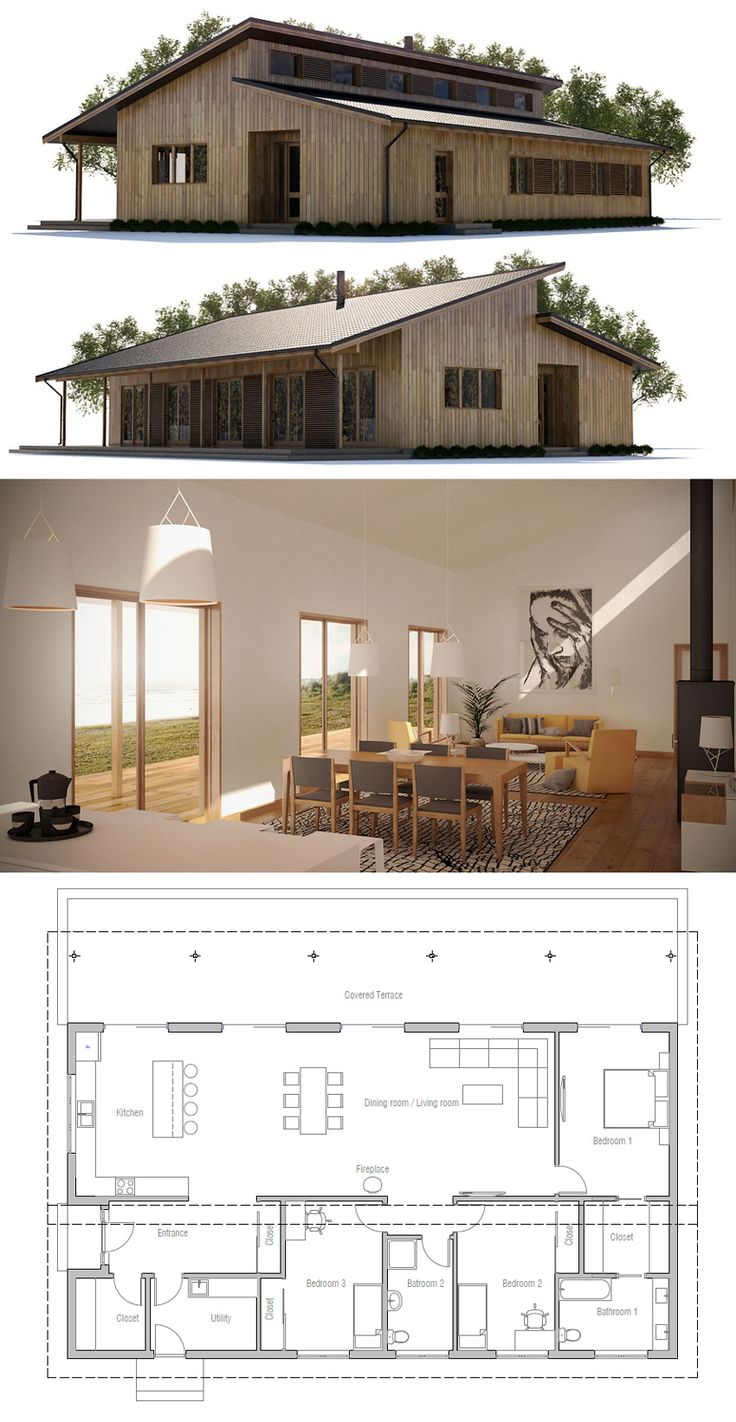 A Little Bigger Than We Were Thinking, But Pretty Similar To Our Tiny House  Plans