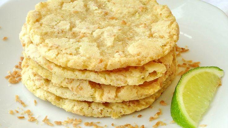 Kókuszos lime-os diétás keksz