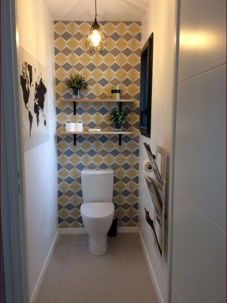 Les 25 meilleures idées de la catégorie Carrelage wc sur Pinterest | Toilettes, Carrelage ...