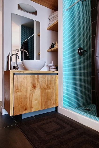 small modern-bathroom picture by Andrew Snow