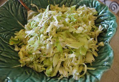 North Carolina Coleslaw! Here is my recipe. Goes great with BBQ!
