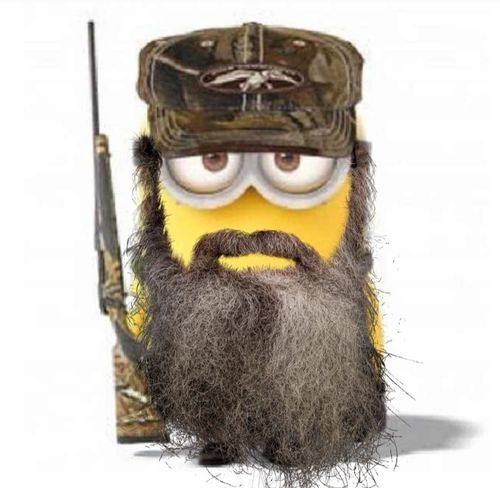 Duck Dynasty uncle Si minions