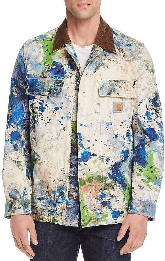 7f05bf9f53e Junya Watanabe x Carhartt Paint Utility Jacket | Men's Fashion Tips ...