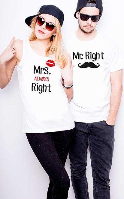 Sklep Aniesbrand | Komplet Mrs always right/Mr right