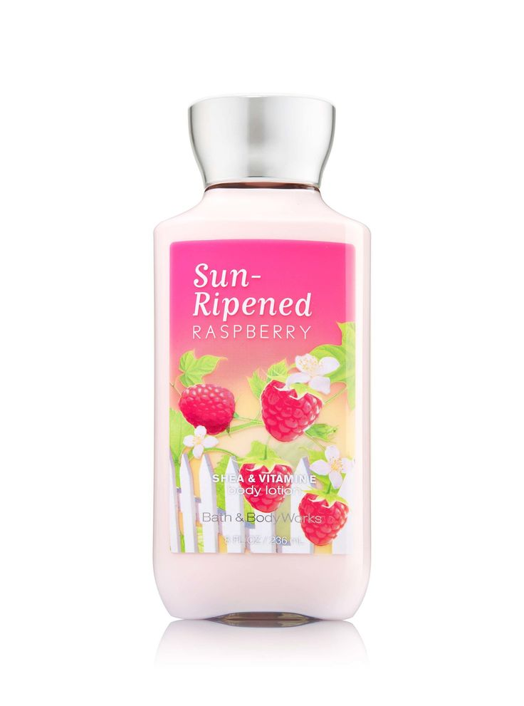 Bath body works sun ripened raspberry body lotion for Bathroom body works