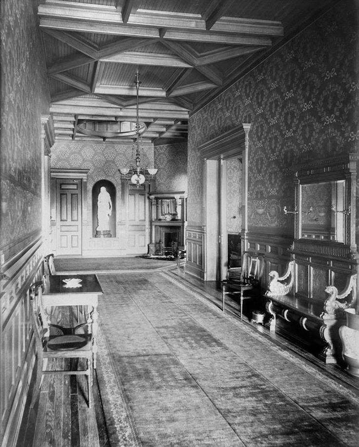 Hallway 1889 Krueger- Scott Mansion New Jersey