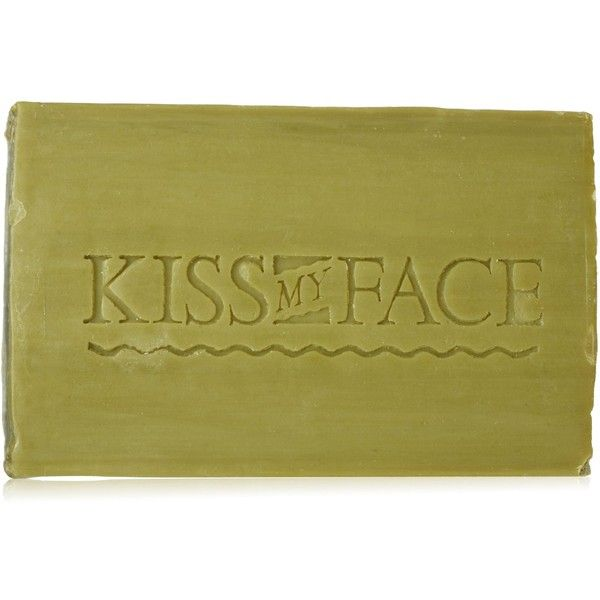 Kiss My Face Pure Olive Oil Bar Soap, 8-Ounce Bars (Pack of 8) ($29) ❤ liked on Polyvore