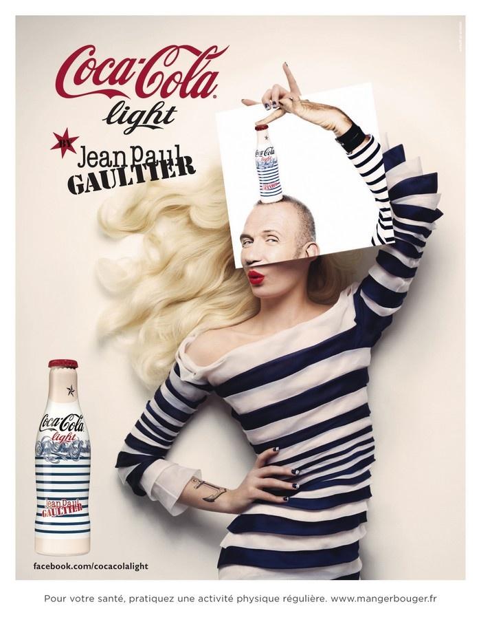 """"""" Night & Day """" nouvelle #campagne Coca-Cola Light avec et par Jean-Paul #Gaultier"""