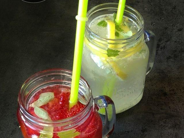 Cukormentes házi limonádé variációk