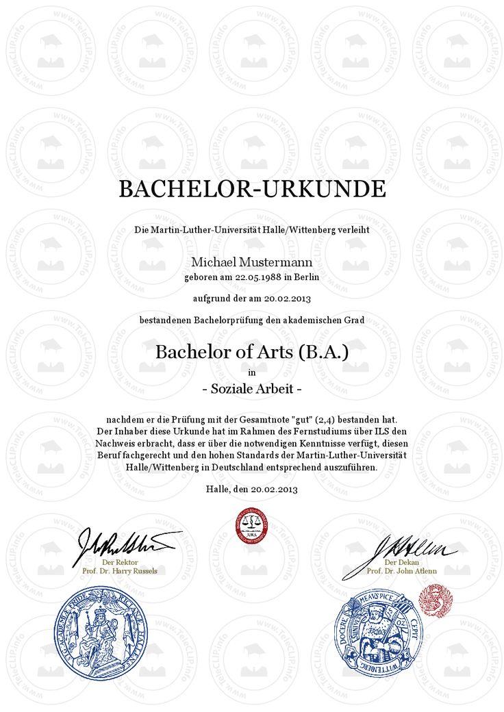 25 besten Bachelor Urkunde | Bachelorzeugnis kaufen | Bachelor ... | {Rettungssanitäter zeugnis 38}