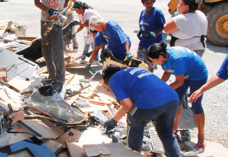 Prefeitura de Barueri coleta lixo eletrônico