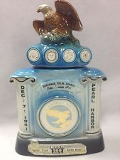 Jim Beam Pearl Harbor Survivors Association Decanter USS Arizona Memorial