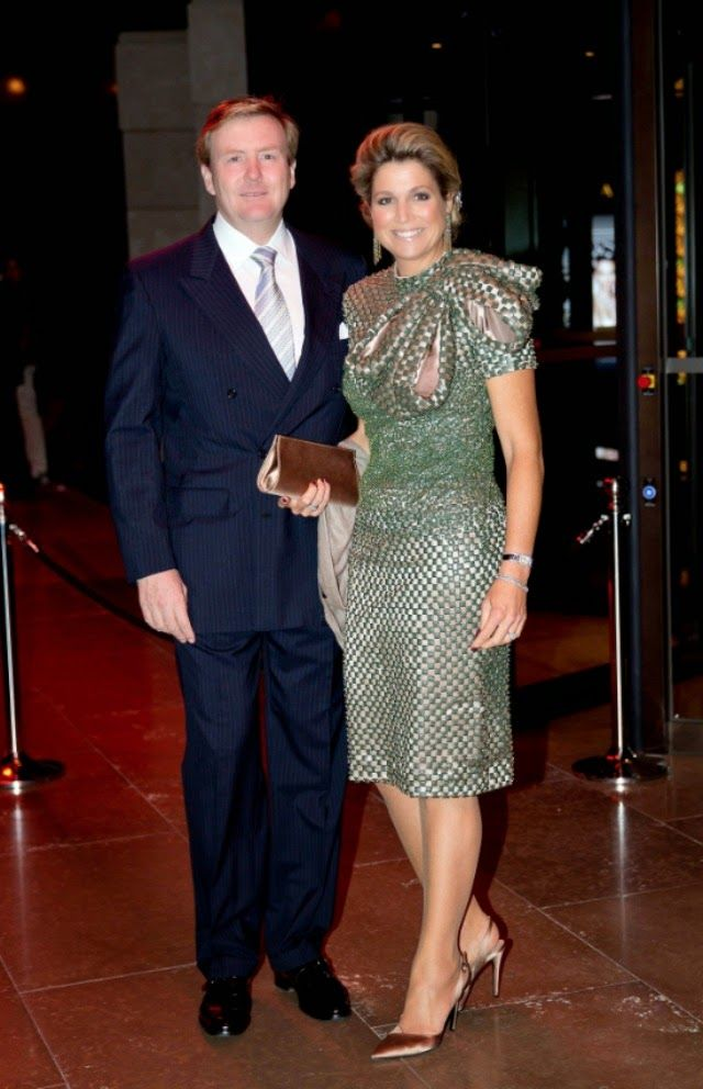 MyRoyals: Dutch State Visit to South Korea, Day 1, November 3, 2014-King Willem-Alexander and Queen Maxima