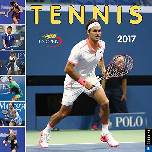 Tennis The U.S. Open 2017 Wall Calendar: The Official Calendar of The United States Tennis Association