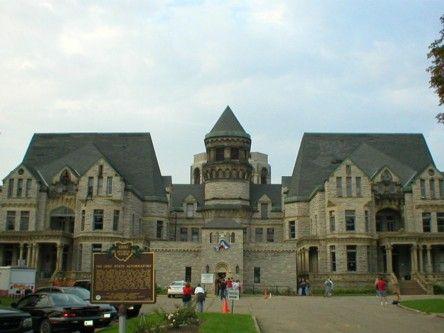 Ohio State Reformatory in Mansfield, Ohio  site for Shawshank Redemption
