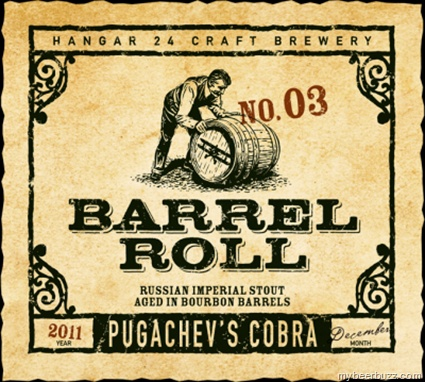 "Hangar 24 Barrel Roll Series No 3 ""Pugachev's Cobra"""